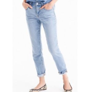 EUC J Crew Slim Broken in Boyfriend Jeans Shelton